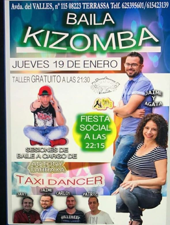 Kizomba thursdays in Ball Valles