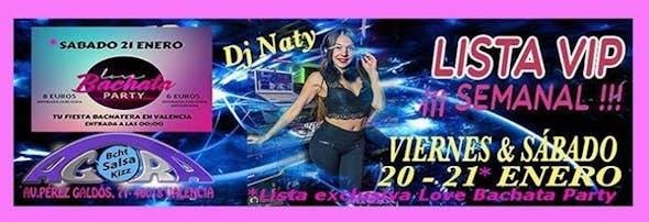 Friday 20th and Saturday 21st January in Agora Salsa Valencia
