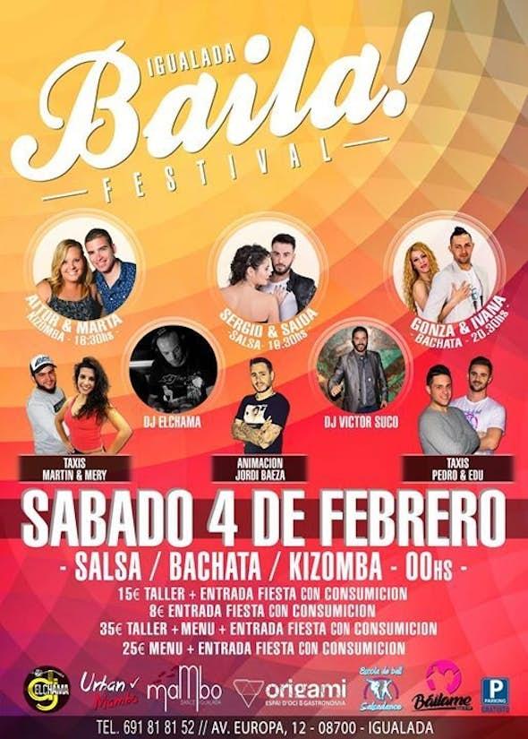 Igualada BAILA Festival Febrero 2017