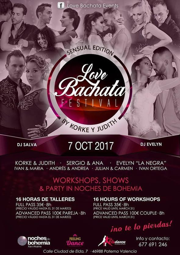 Love Bachata Festival 2017, Korke & Judith Sensual Edition