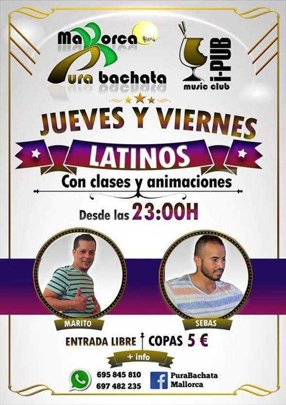 Jueves Latinos en I-Pub Mallorca