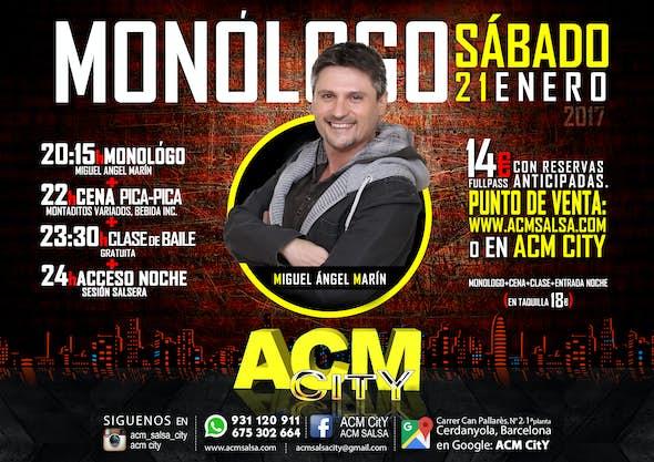 21 de enero: NOCHE DE MONÓLOGO