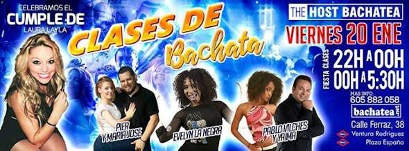 Friday 20/01 Bachatea The Host