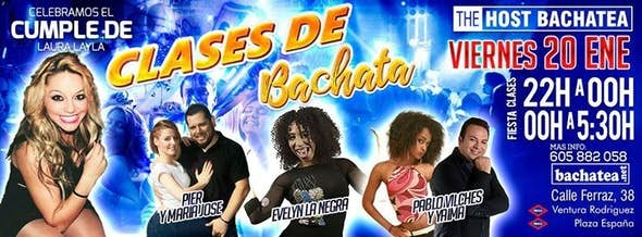 Viernes 20/01 Bachatea The Host