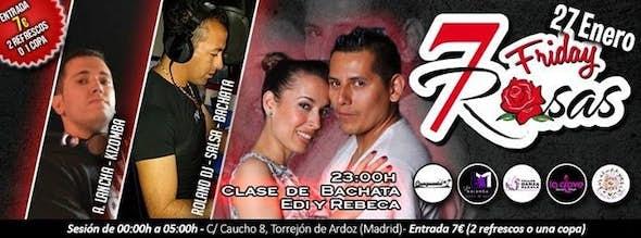 Friday in 7 Rosas Salsa