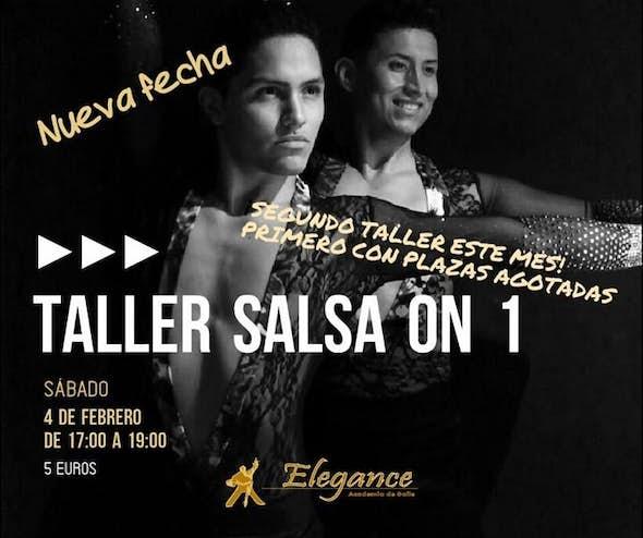 Salsa Workshop on 1 in Elegance dance school