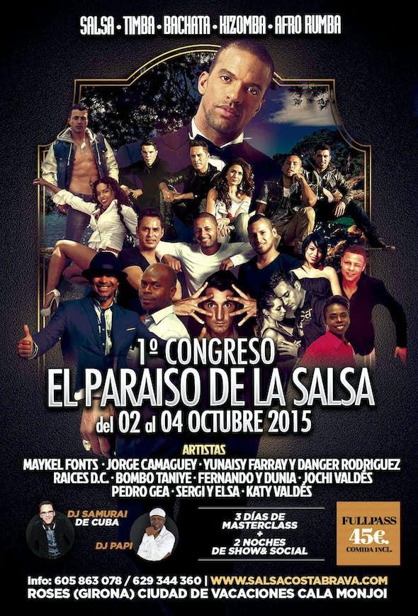 1st El Paraiso de la Salsa congress