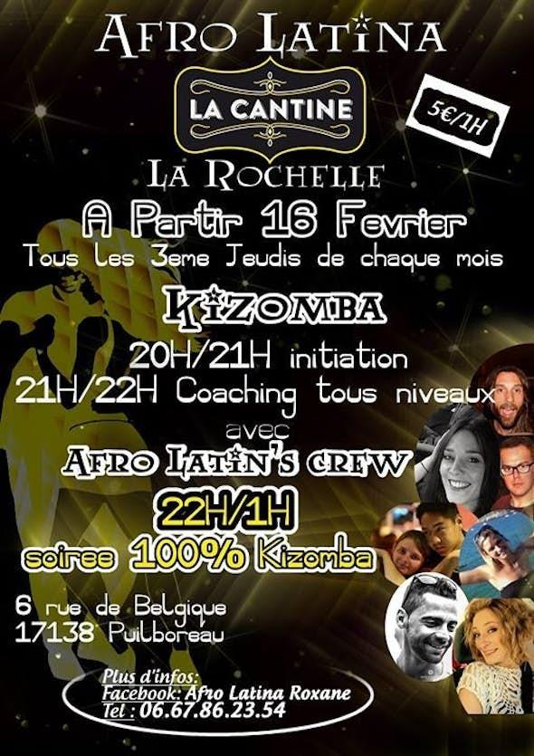 La mensuel d'Afro latina à La Rochelle