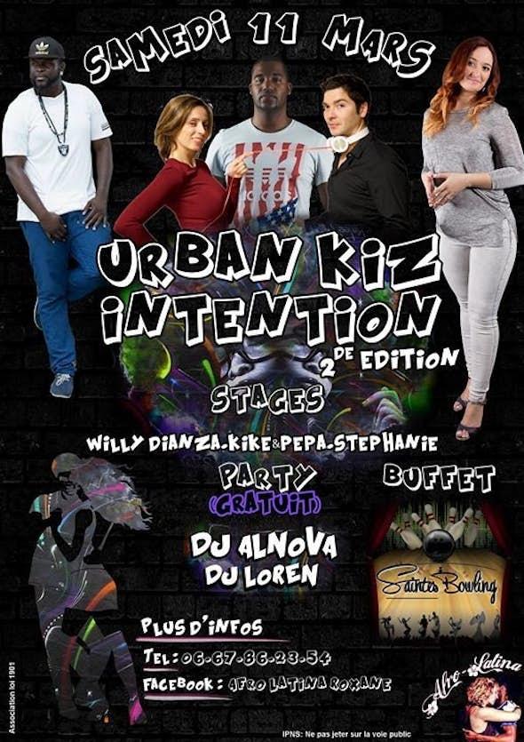 Urban Kiz Intention 2017 (2nd Edition)