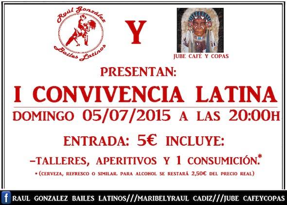 I Convivencia Latina en Jube Cafe y Copas
