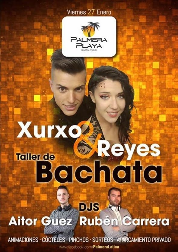 Bachata workshop with Xurxo & Reyes in Palmera Playa