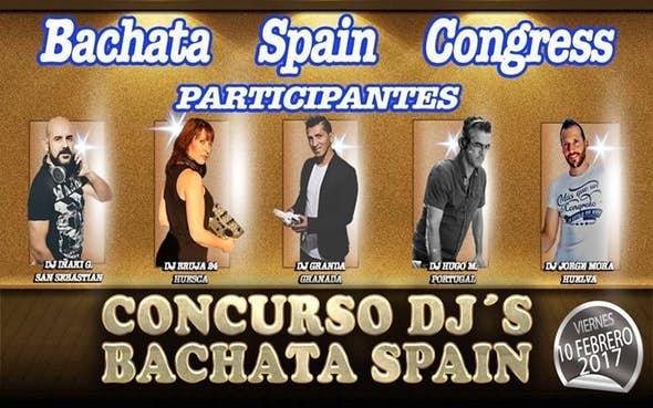 Concurso Djs Bachata Spain en Sala Calipso
