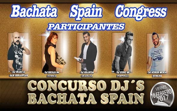 Djs Contest Bachata Spain in Sala Calipso
