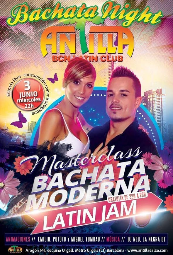 THE ORIGINAL BACHATA NIGHT