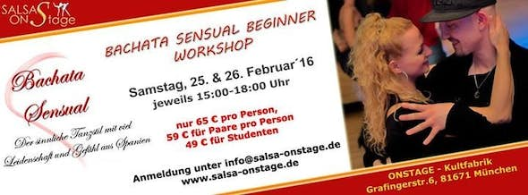 Bachata Sensual Beginner Workshop