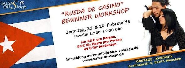 Rueda de Casino - Beginner Workshop