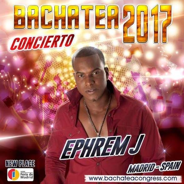 Ephrem J en concierto en el Bachatea World Congress