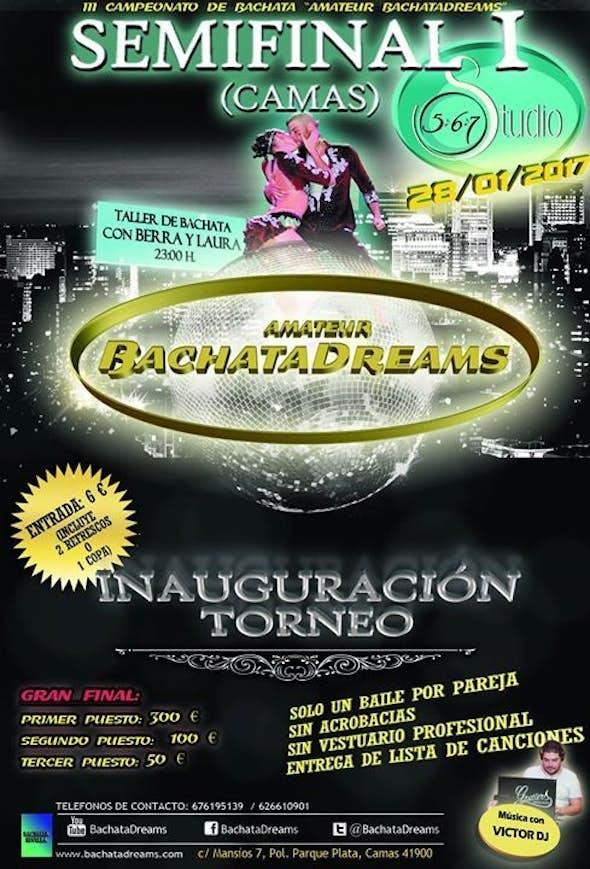 "Semifinal I ""Amateur BachataDreams"" - Inauguration"