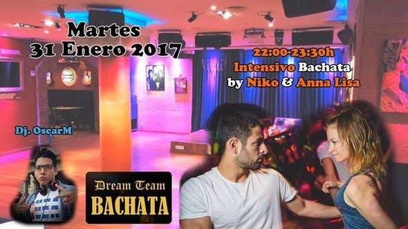 Bachata intensive workshop by Niko & Anna Lisa