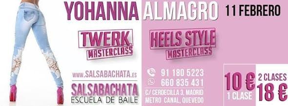 Master class Twerk & Masterclass Heels Style