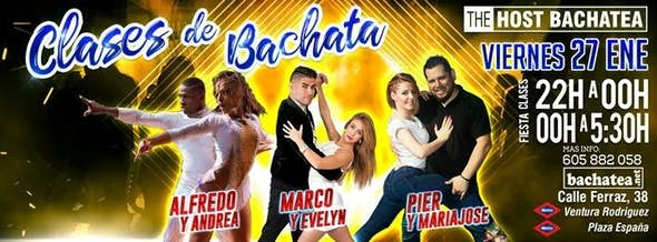 Viernes 27/01 The Host Bachatea
