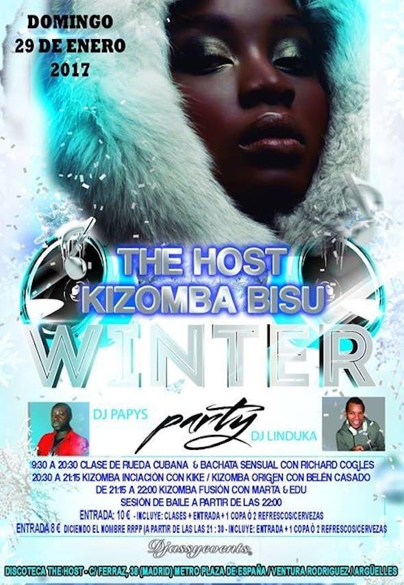 ★The Host Kizomba Bisú★ Winter Party★ Domingo 29/01/2017★