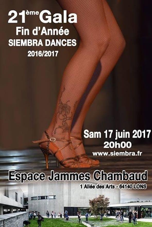 21ème Gala de fin d'année de Siembra Dances