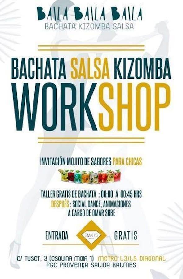 Friday Bachata Workshop in Barcelona