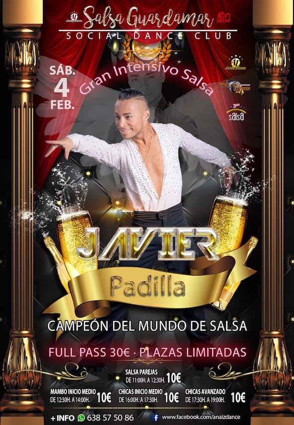 Gran Intensivo de Salsa con Javier Padilla (campeón del mundo)