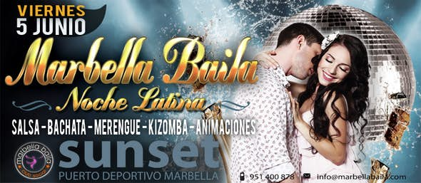 "Great Party ""Marbella Baila"" at DISCO SUNSET"