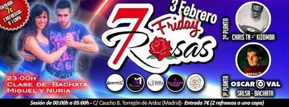 Birthday of Miguel in 7 Rosas Salsa