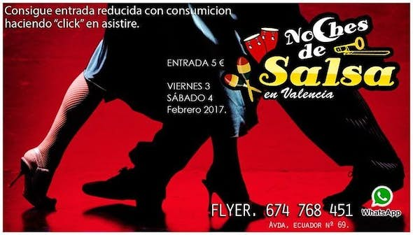 Noches de Salsa with reduced entrance