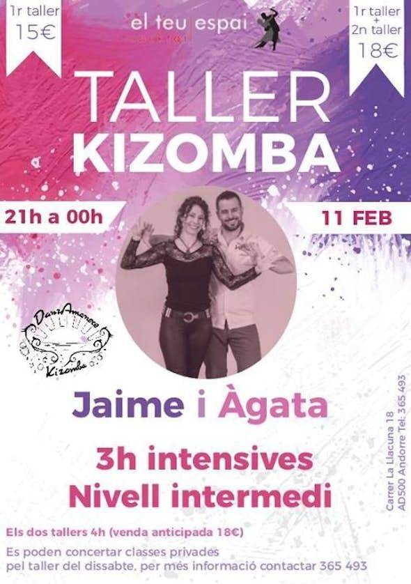 Kizomba workshop in El Teu Espai