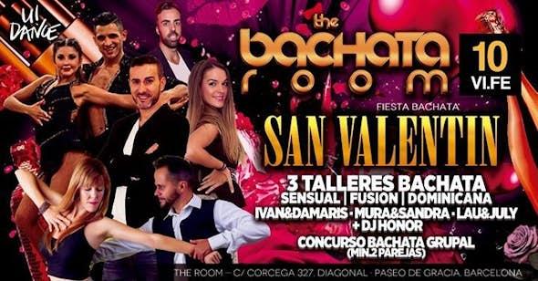 Noche de fiesta + Concurso de Bachata en The Room
