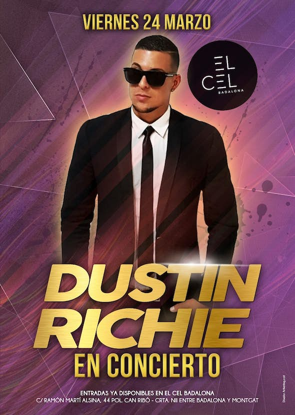 Dustin Richie concert in Barcelona + Party