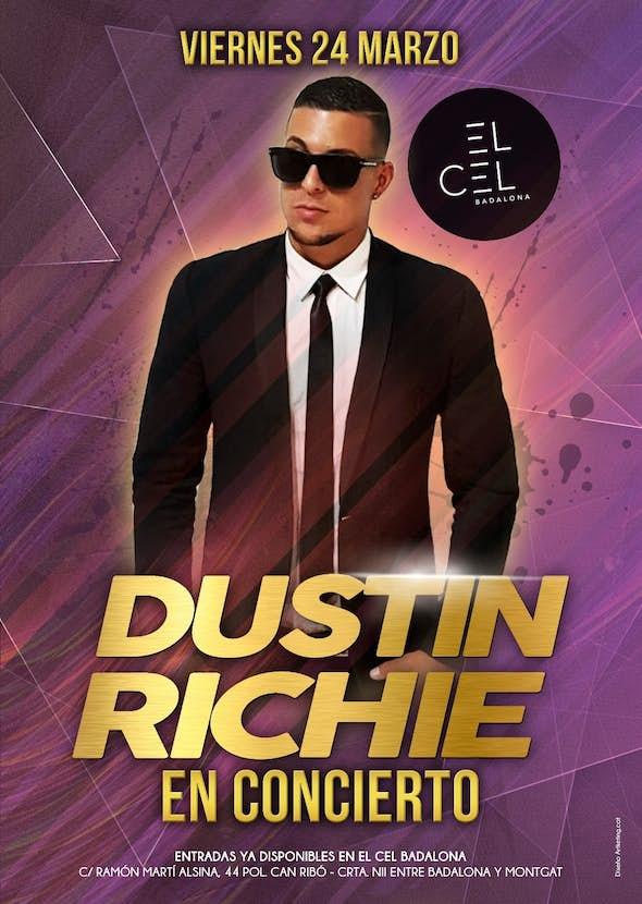 Dustin Richie en concierto en Barcelona + Fiesta