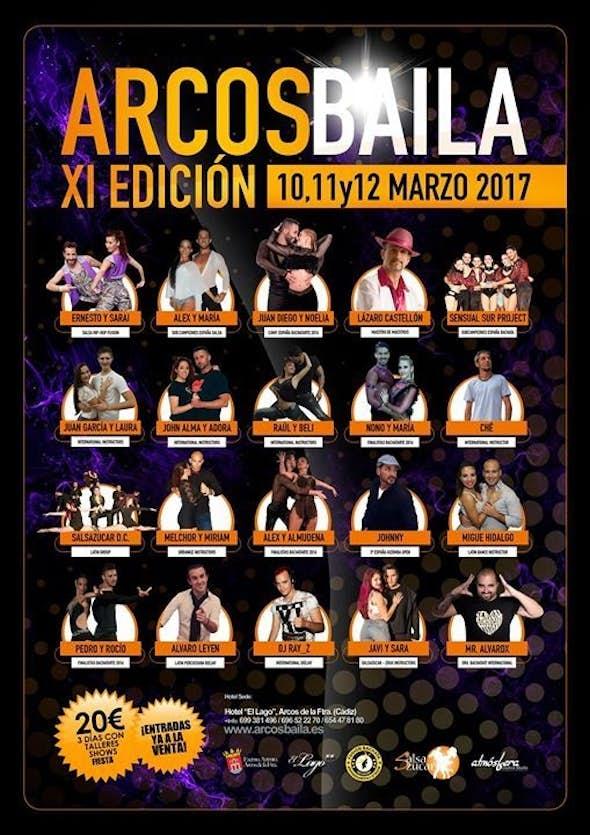 Arcos Baila 2017 (XI Edición)