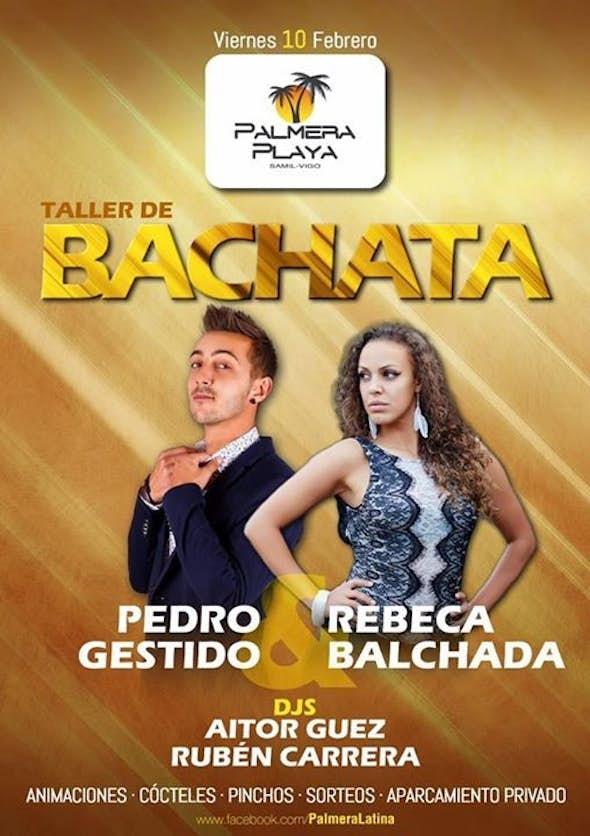 Taller de Bachata con Pedro & Rebeca en Palmera Playa