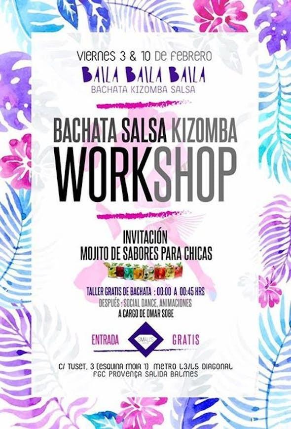 Viernes Taller de Bachata en Barcelona