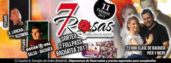 7 Rosas Salsa - Especial San Valentin