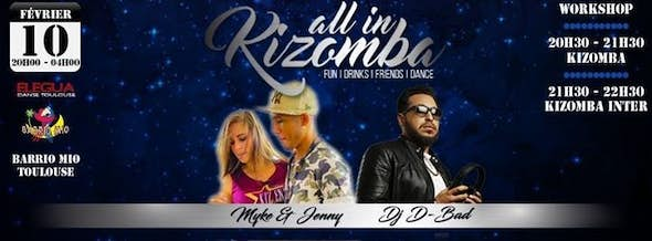 All In Kizomba - Classes and Party in Toulouse
