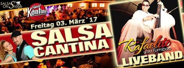 "Salsa Cantina Party mit Liveband ""Rafaelito y su Tumbao"""