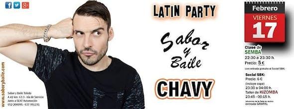 Latin Party, con CHAVY, en SyB Toledo