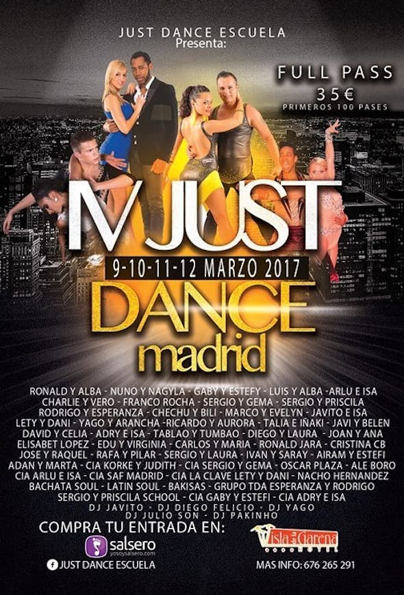 Just Dance Madrid 2017 (4ª Edición)