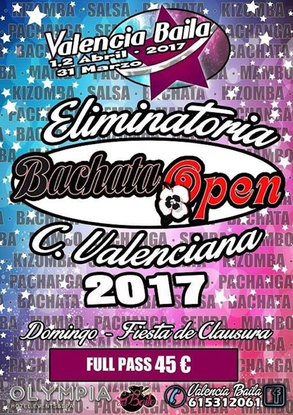 Bachata Open 2017 Eliminatory in Valencia Baila 2017 Spain