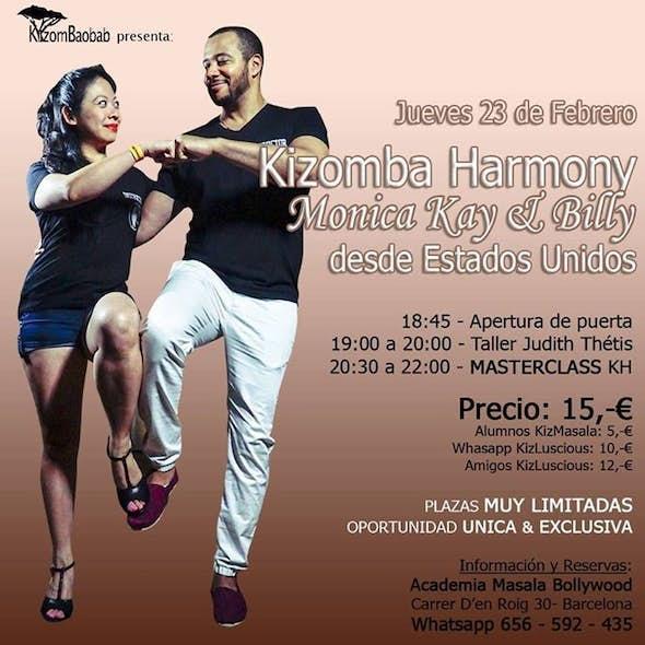 Masterclass Kizomba Harmony (Houston-USA) in Barcelona - Thu 23 Feb
