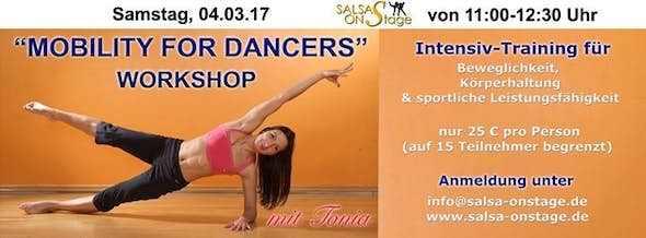 Mobility for Dancers Workshop