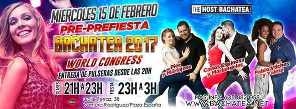 Pre-Prefiesta Bachatea World Congress