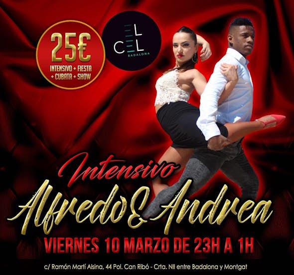 Intensivo 2h. bachata con Alfredo & Andrea + fiesta en el Cel Badalona
