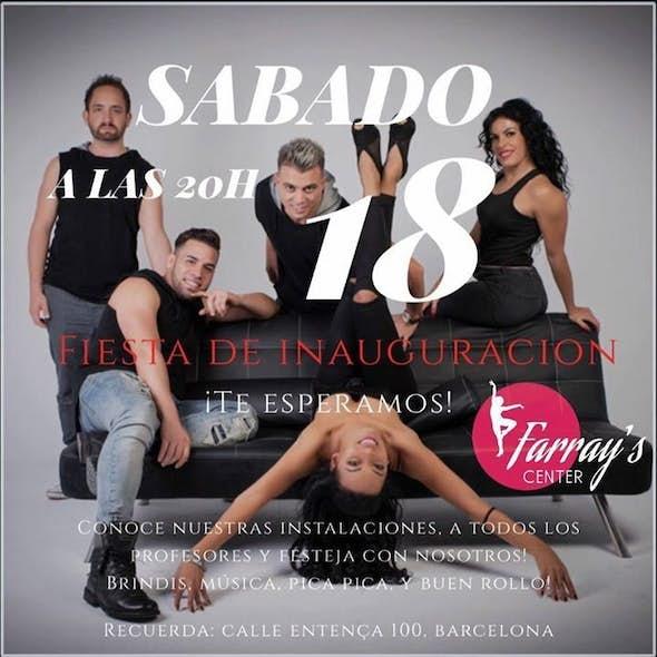Fiesta De Inauguración De Farray's Center Sábado 18 A 20h
